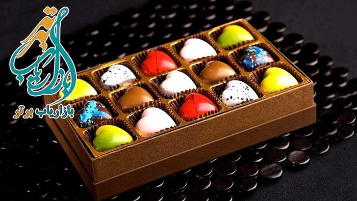 بسته بندی شکلات در منزل